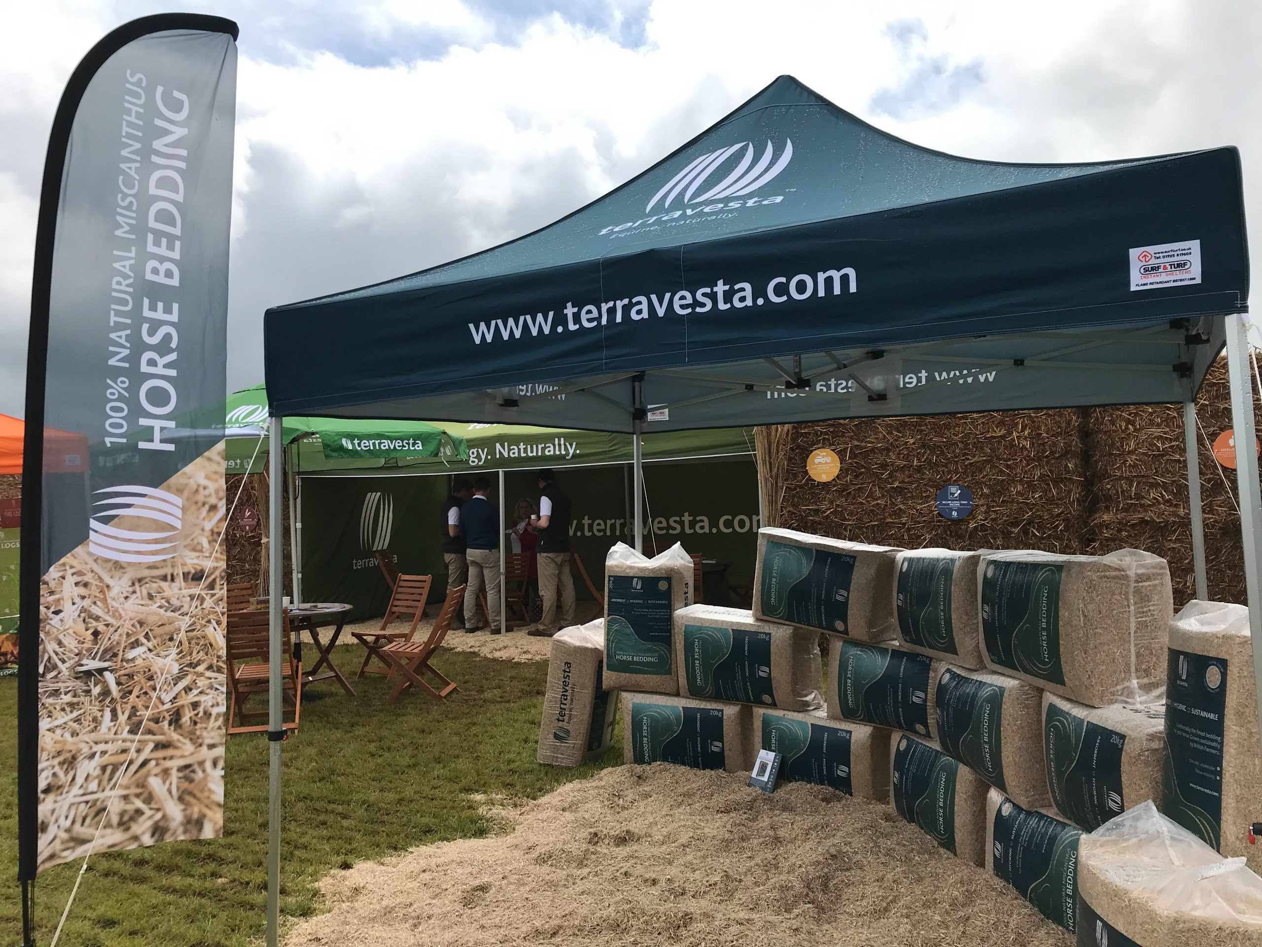 Terravests Equine Event stand
